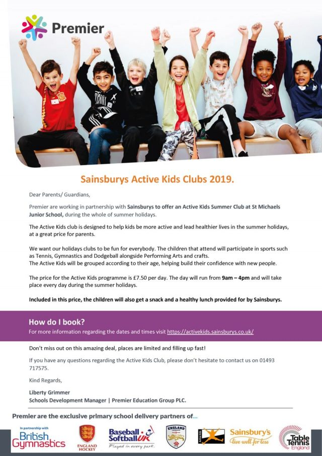 thumbnail of Sainsburys Active Kids